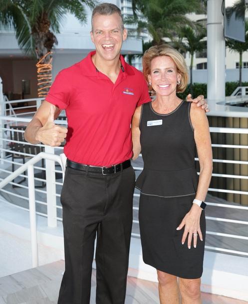 Carolyn Block Ellert and Marty Kiar